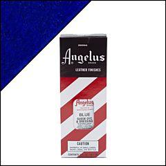 Angelus suède verf blauw 88ml