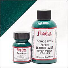 Angelus Leerverf Donker Groen