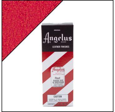 Angelus suède verf rood 88ml