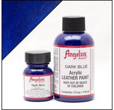 Angelus Leerverf Donker Blauw