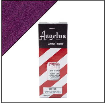 Angelus suède verf Burgundy 88ml