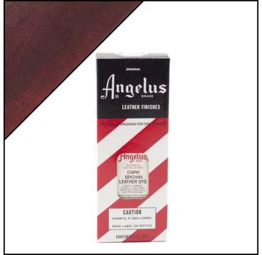 Angelus Leather Dye Donkerbruin 88ml