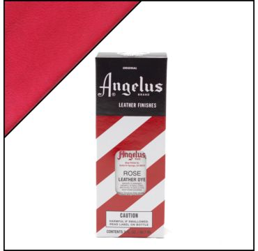 Angelus Leather Dye Rose 88ml