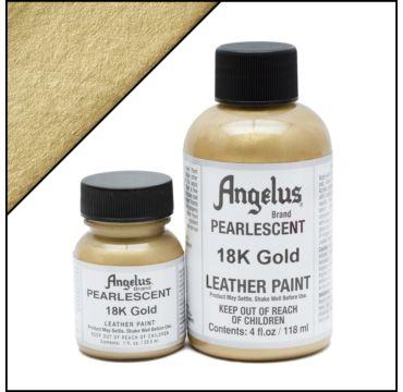Angelus Pearlescent 18K Goud Leerverf