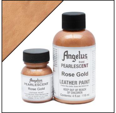 Angelus Pearlescent Rose Goud Leerverf