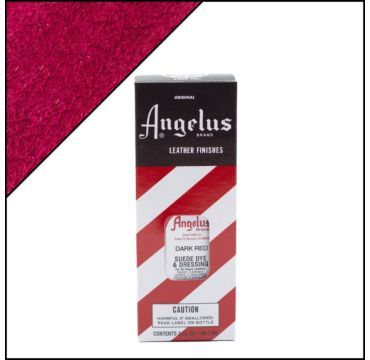 Angelus Suède Verf Donkerrood 88 ml