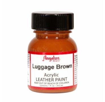 Angelus leerverf Luggage Bruin